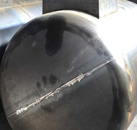 罐体焊缝漏油怎么处理